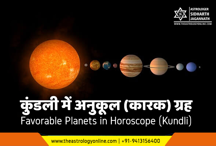 How to calculate youe lucky planet कुण्डली में आपका अनुकूल ग्रह
