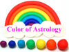 Astrology colour astrological significance of blue, red, yellow, green and other colours.