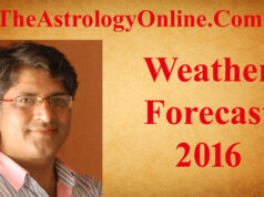 Weather Forecast 2016