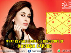 What reveals from the horoscope of Kareena Kapoor?