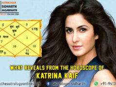 What reveals from the horoscope ofkatrina kaif