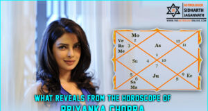 What reveals from the horoscope of Priyanka Chopra?