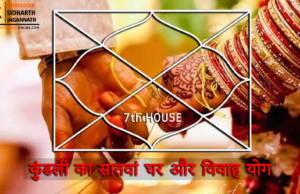 7th House for Marriage