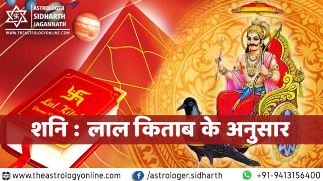 शनि : लाल किताब के अनुसार Prediction for Saturn in house in Hindi according to Lal Kitab