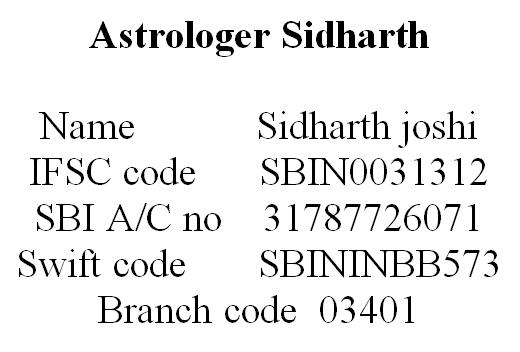 SBI Bank Details