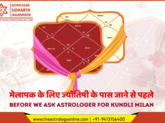 मेलापक के लिए ज्योतिषी के पास जाने से पहले | Before we ask Astrologer for Kundli Milan